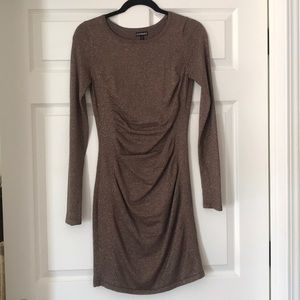 Shimmery holiday dress